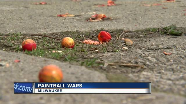 Social media fueling paintball shootings in Midwestern cities, police say