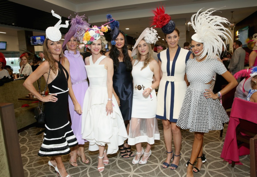 photos the best outfits of kentucky derby 144  gallery
