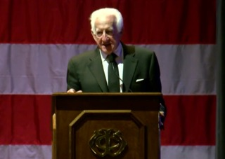 Bob Uecker honored for military service