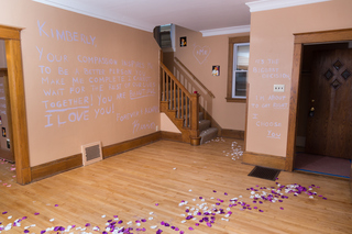 Man pulls off epic proposal in Riverwest home