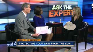 Ask the Expert: Skin protection in the summer
