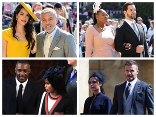 Celebrities at the Royal Wedding [GALLERY]