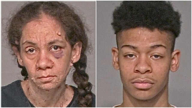 Mother, son charged in 15-year-old's death