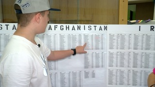 Teen creates memorial wall for fallen soldiers