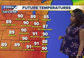 Hot and humid Memorial Day weekend continues