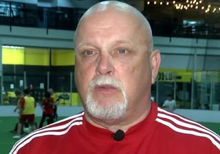 Soccer coach giving back after health scare