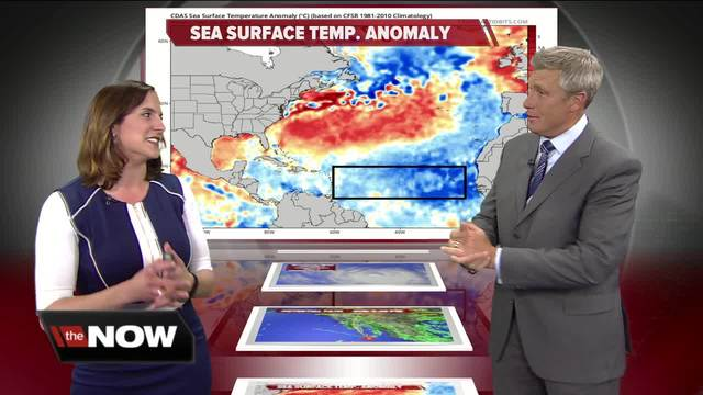 Geeking Out- Sea surface temperatures