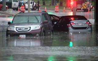Flash floods cover local roads Monday [PHOTOS]