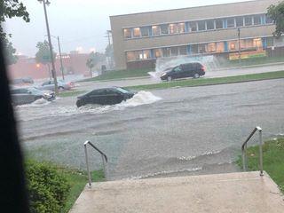 Heavy rains flood north side Milwaukee church