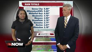 Geeking Out: Rain totals after Monday storms