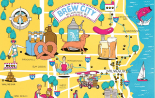 The Original Brew City Beer Map unveiled