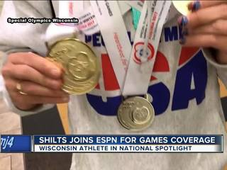 Wisconsin Special Olympics star joins ESPN