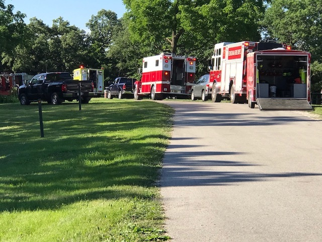Water rescue underway in Walworth County