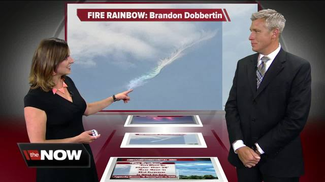 Geeking Out- Fire Rainbow