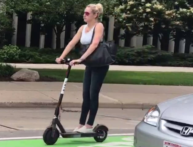 Bird Scooters Have Landed In Milwaukee