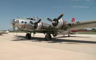 """PHOTOS: Tour the WWII-era B-17 """"Madras Maiden"""""""
