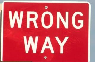 Hit An Run Driver Blew Past U0027wrong Wayu0027 Signs
