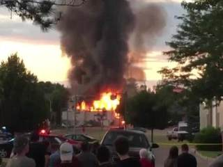 911 caller warns of gas leak before explosion