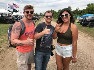 Country lovers set up camp at Country Thunder