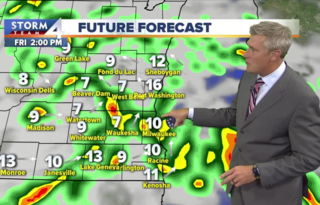 Showers and storms develop tonight