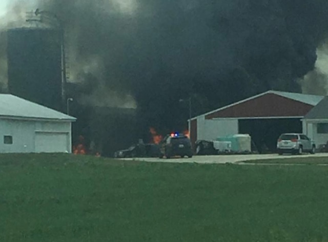 Sheboygan Falls Fire: Plane crash at Airport