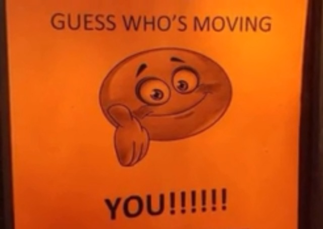 Guess whos moving memphis eviction notice goes viral tmj4 guess whos moving memphis eviction notice goes viral thecheapjerseys Gallery