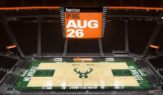 Bucks to play 1st game at Fiserv Forum on Oct. 3