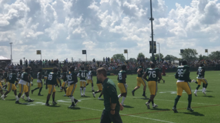 Two players carted off on day 4 of Packers camp