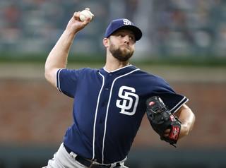 Brewers claim Padres pitcher Jordan Lyles