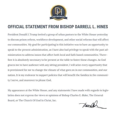 Milwaukee Bishop Darrell Hines criticized after meeting with