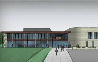 New city hall in Waukesha to cost $29 million
