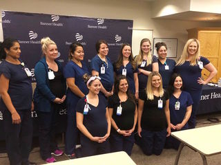 16 nurses pregnant at same time at AZ hospital