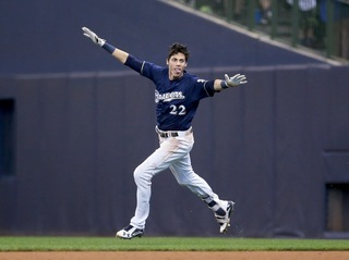 Relive Christian Yelich's MVP season [PHOTOS]