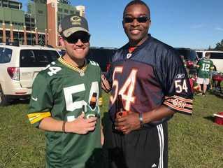 Packers, Bears fans tailgate at Lambeau [PHOTOS]