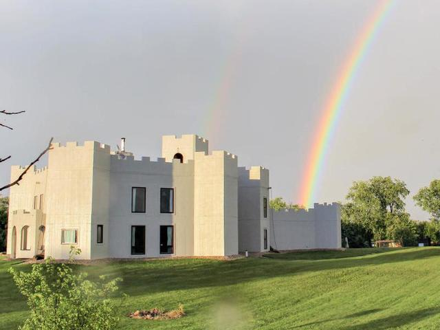 An Actual Castle Right Here In Wisconsin This Custom Built Castle Sits On 37 Acres Of Land In Beaver Dam At Over 8000 Square Feet Of Living Space
