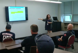 MFD firefighters trained on domestic violence