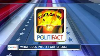 What goes into a PolitiFact Wis. fact-check?
