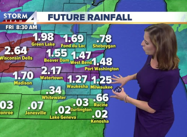 Storms make for a soggy Thursday morning commute