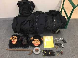 WI men found with guns, drugs and monkey masks