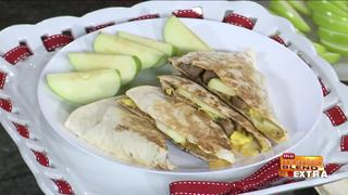 Blend Extra: One-Pan Breakfast Quesadillas
