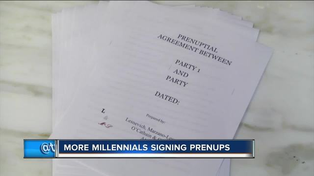 Why More Millenials Are Signing Prenups Tmj4 Milwaukee Wi
