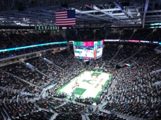 Bucks tip off for first time at Fiserv Forum