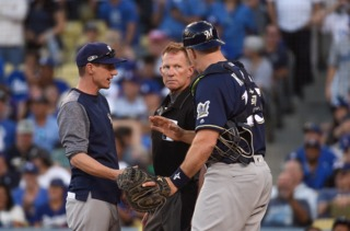 Brewers facing elimination after Game 5 loss