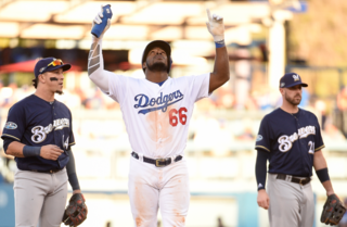 Yasiel Puig now says Dodgers 'in 6' [VIDEO]