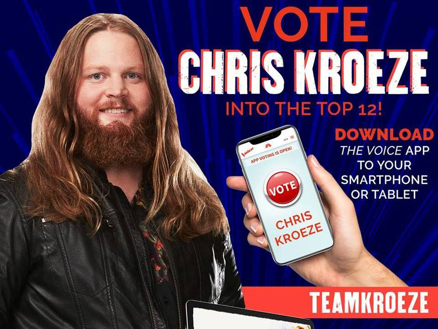 How You Can Vote For Wisconsin Native Chris Kroeze On The