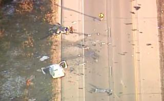 1 dead, 1 hospitalized in Waukesha Co. crash